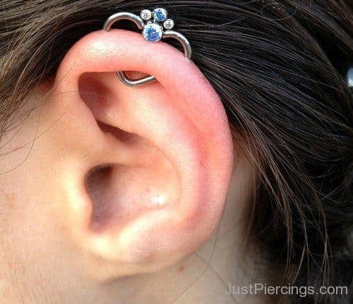 14 Stylish Orbital Piercings Heart Shaped Orbital