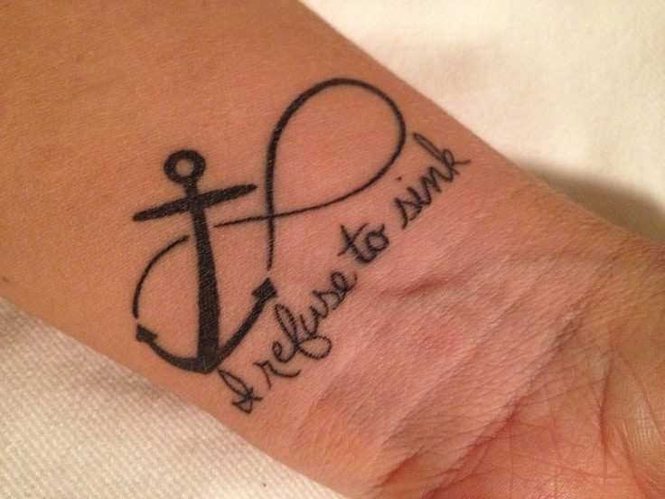 I Refuse To Sink Tattoos 12 Courageous Collections Slodive