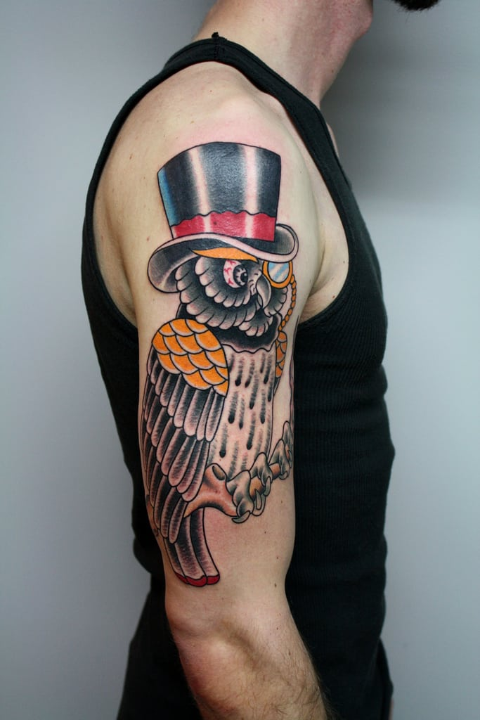owl-with-a-top-hat