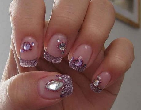 purple-and-silver-with-nail-jewels