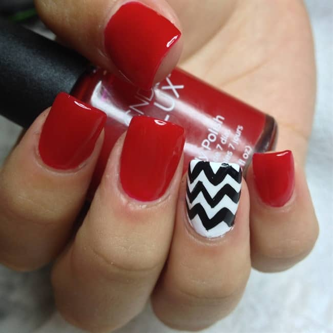 red-glossy