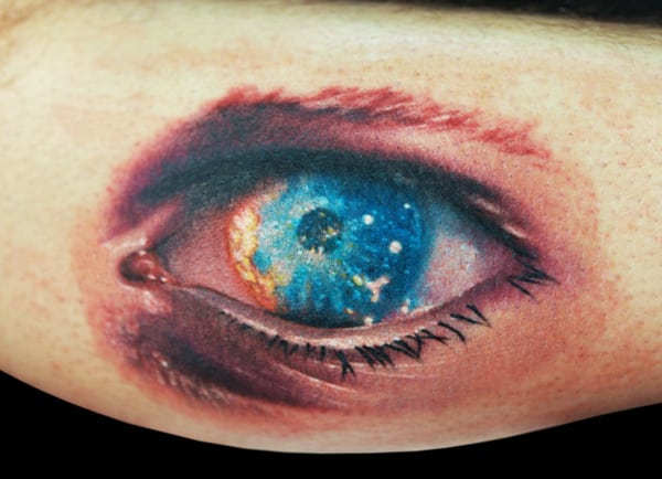 The 12 Creepiest Evil Eye Tattoo Designs