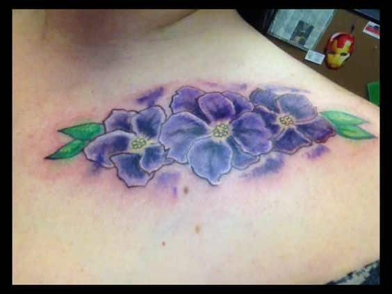 11 Very Appealing African Flower Tattoo Designs