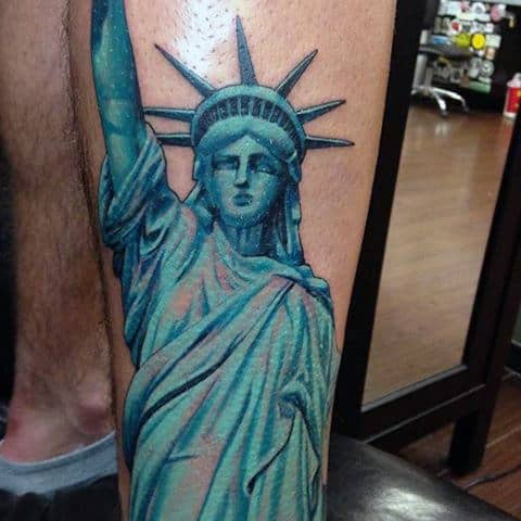 11 Statue Of Liberty Tattoos That Every American Will Appreciate