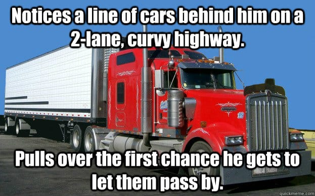 The Internet's 11 Best Truck Driver Memes T10