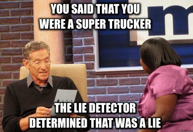 The Internet's 11 Best Truck Driver Memes T11