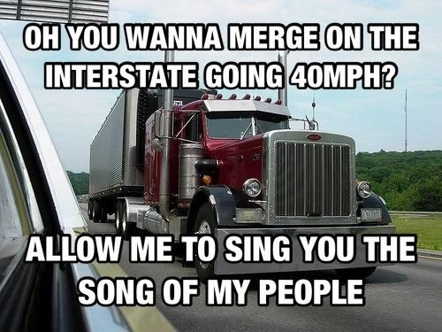 The Internet's 11 Best Truck Driver Memes T2