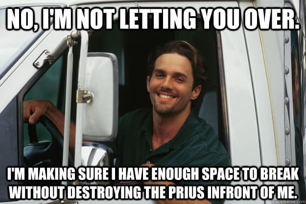 The Internet's 11 Best Truck Driver Memes T3