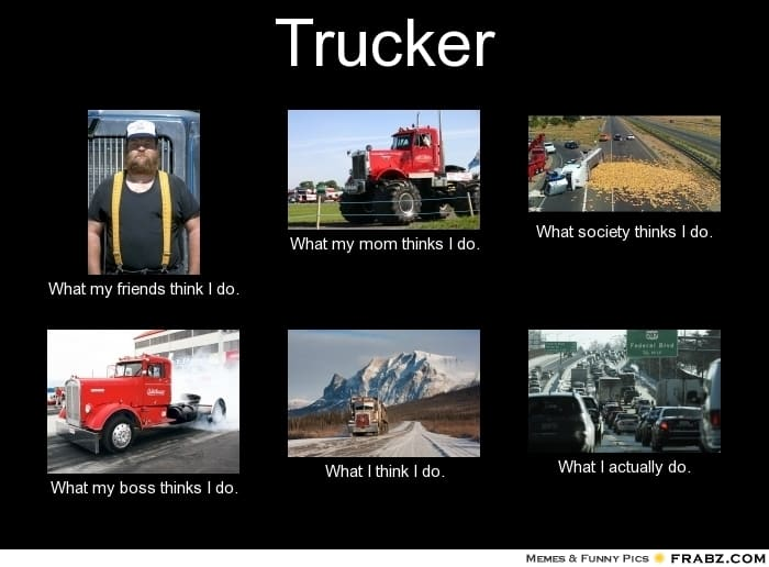 The Internet's 11 Best Truck Driver Memes T5
