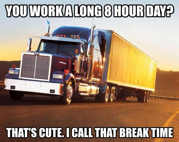 The Internet's 11 Best Truck Driver Memes T6