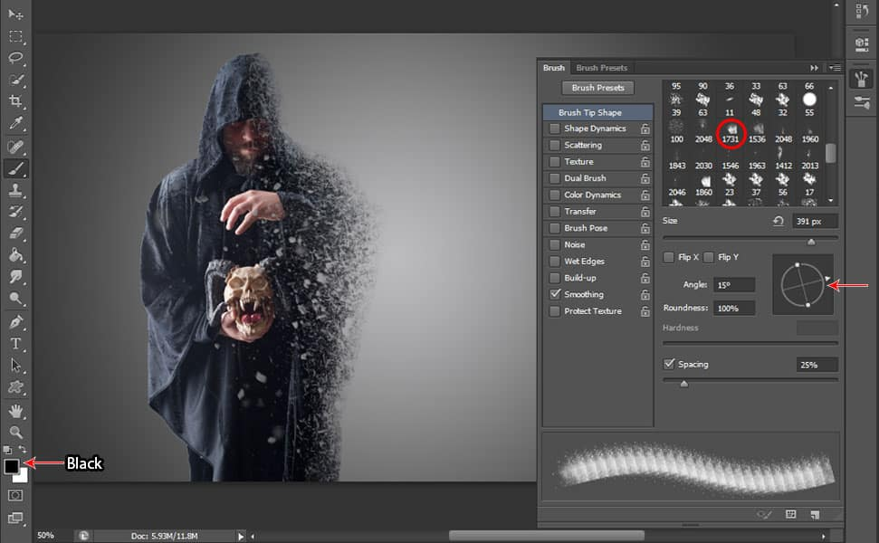 13 Step by Step Dispersion Effect Tutorial in Photoshop