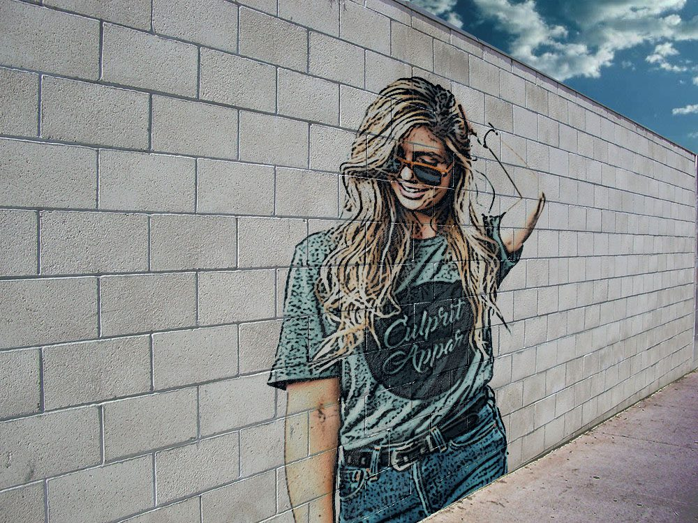 14 Step by Step Brick Wall Graffiti Tutorial in Photoshop