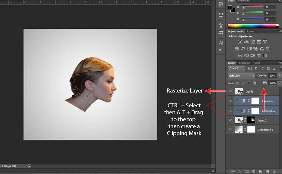 16 Step by Step Smoke Effect Tutorial in Photoshop