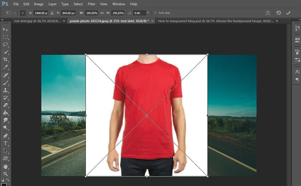 13 Step by Step Transparent Clothes Effect Tutorial in Photoshop