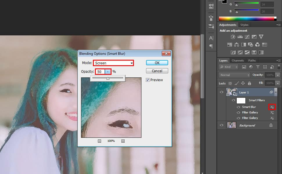 How to Create a Watercolor Effect - 11 Steps Photoshop Tutorial