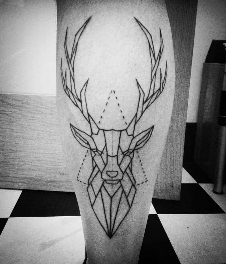 32 incredible calf tattoos ideas