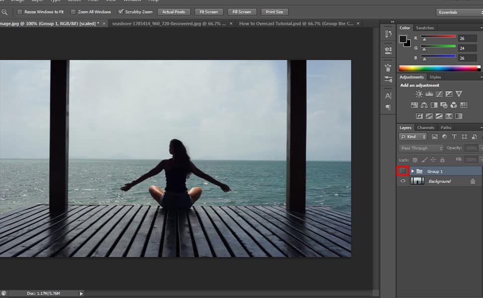 13 Step by Step Sunset Photo Manipulation Tutorial in Photoshop