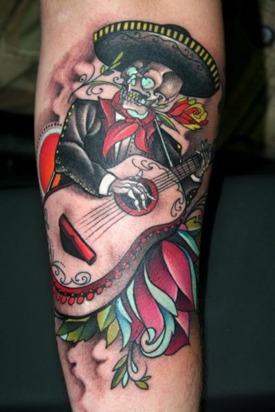 A song for you day of the dead tattoo