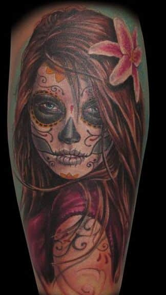 Beauty is in the eyes of the beholder days of the dead tattoo