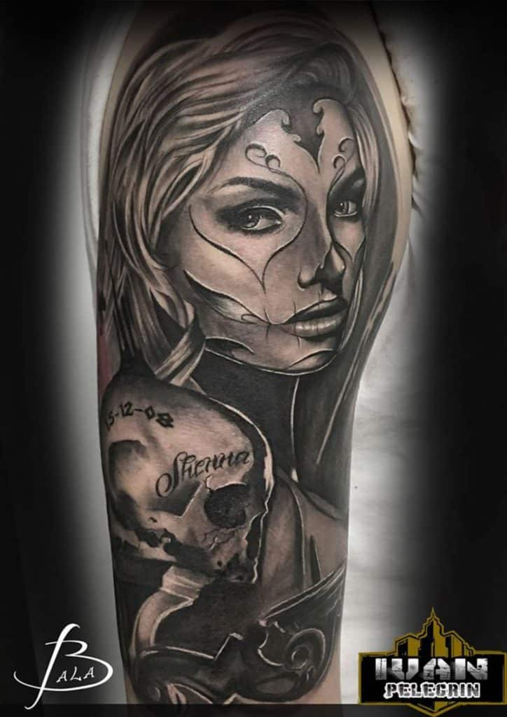 Catrina Tattoos: Day Of The Dead Tattoo Collection (Dia De Los Muertos