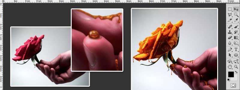 Creating Honey Covered Objects Photoshop Tutorial Photoshop Compositing Tutorials on the Web