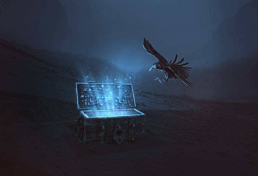 How to Create a Magical Chest Photo Manipulation With Adobe Photoshop Photoshop Compositing Tutorials on the Web