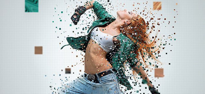 How to create a Pixelated effect in Photoshop Photoshop Compositing Tutorials on the Web