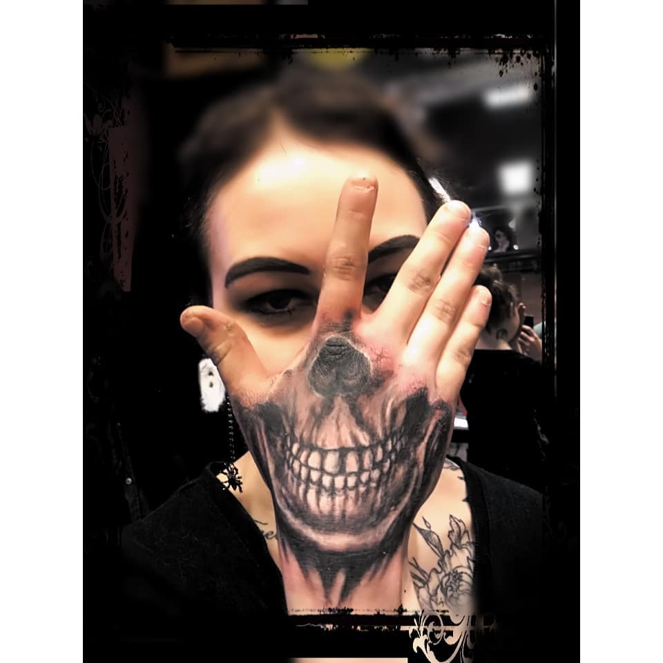 Skull Jaw Tattoo: Brilliant Tattoos For Women - 65 Collections
