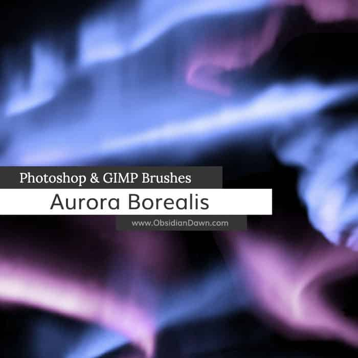 Aurora Borealis Brushes free photoshop brushes