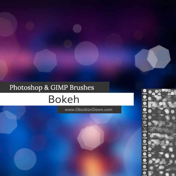 Bokeh free photoshop brushes