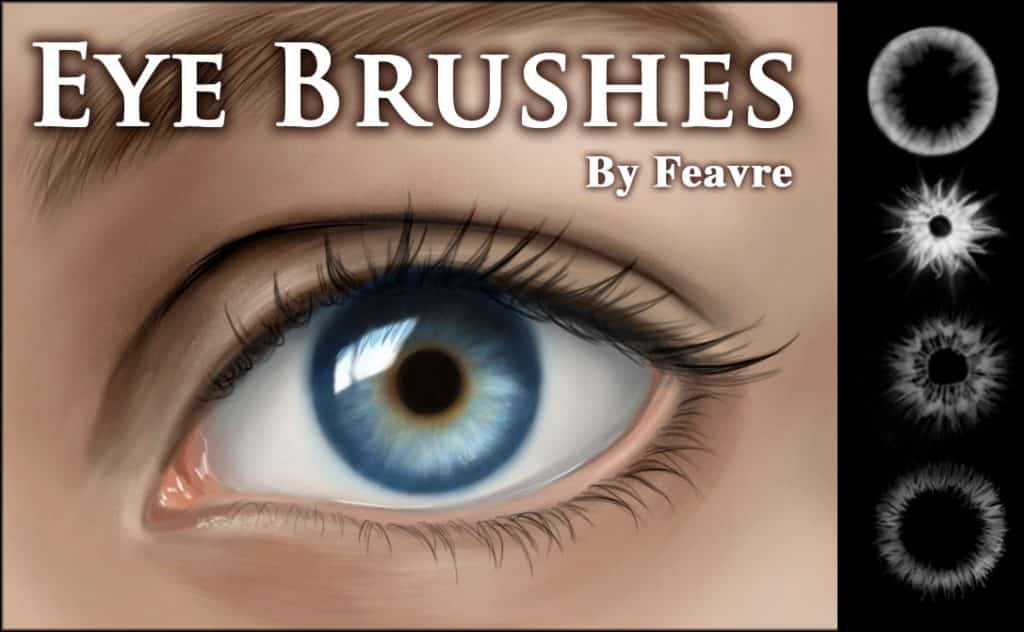 Eye Iris Brushes free photoshop Brushes