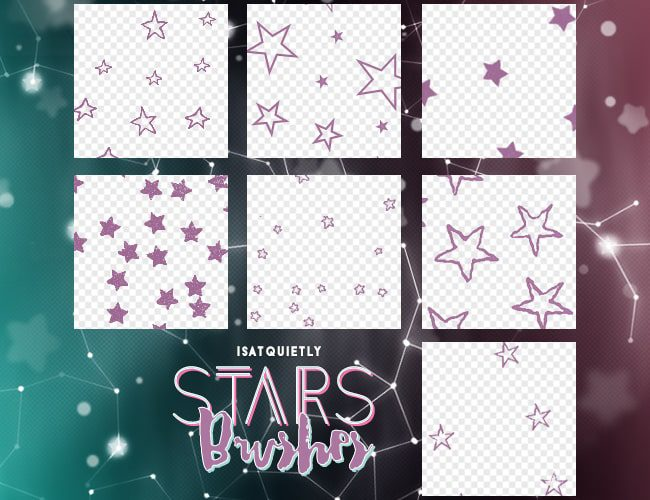 Stars Brushes free photoshop brushes