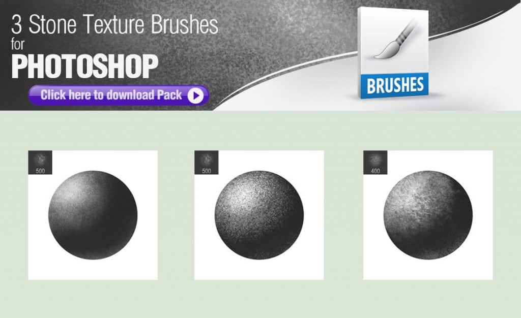 Stone Texture Brushes free photoshop brushes
