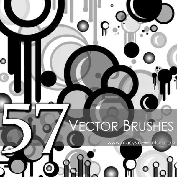 Vector Brushes free photoshop brushes