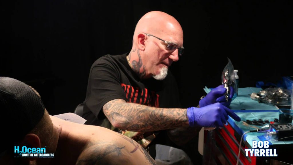Bob Tyrrell famous tattoo artists
