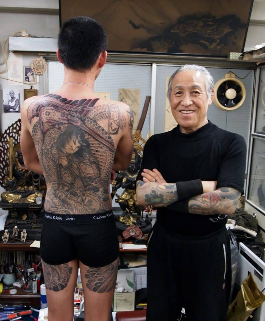 horiyoshi famous tattoo artists