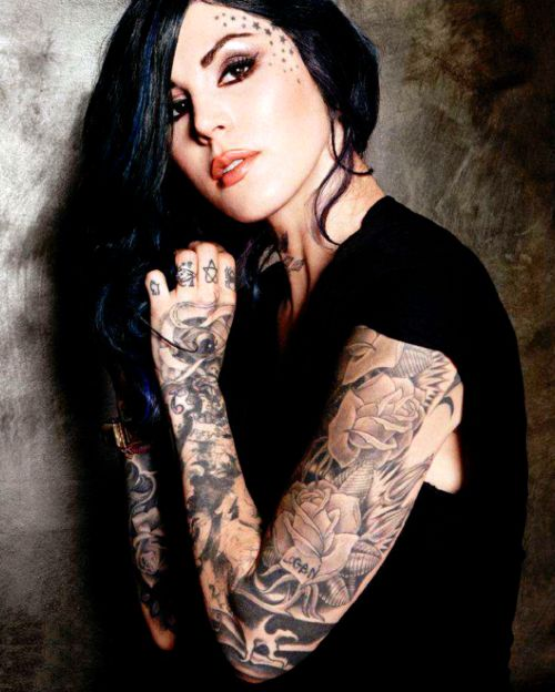 Kat Von D famous tattoo artists