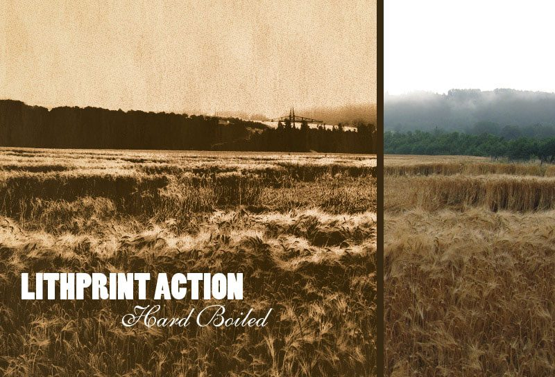 Lithprint photoshop action