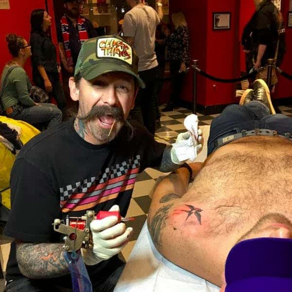 Oliver Peck famous tattoo artists
