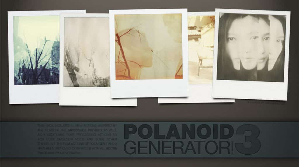Polaroid Generator Photoshop Action