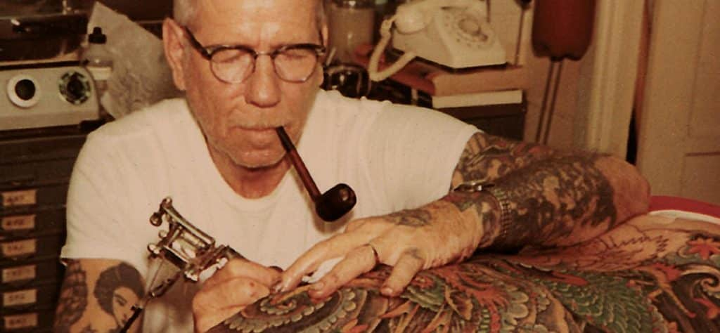 Sailor Jerry famous tattoo artists