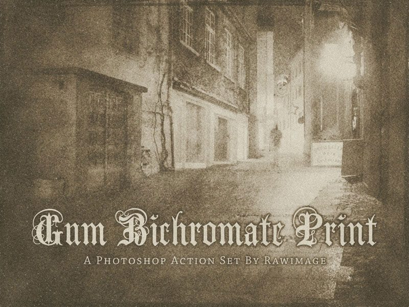 gum_bichromate_print_by_rawimage photoshop action