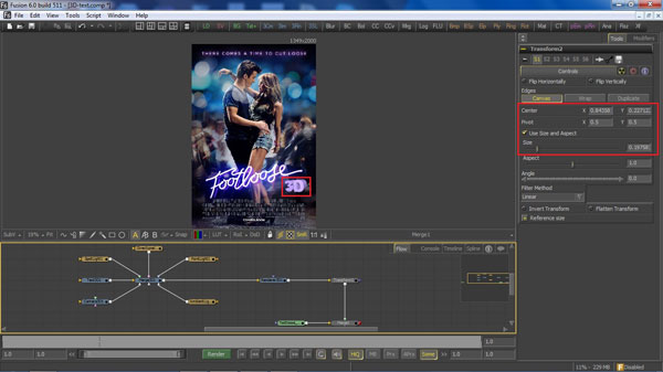 step 11 transform small How To Create A 3D Movie Poster In Photoshop