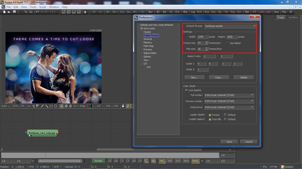 step 3 change prefernces small How To Create A 3D Movie Poster In Photoshop