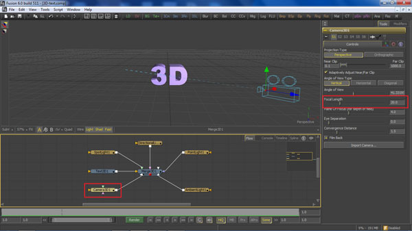 step 9 camera small How To Create A 3D Movie Poster In Photoshop