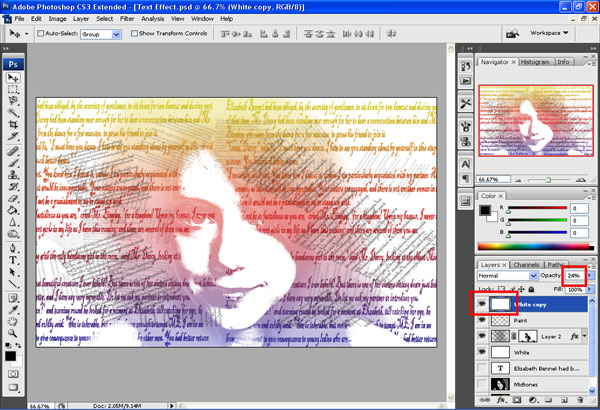final output s Artistic Text Effect