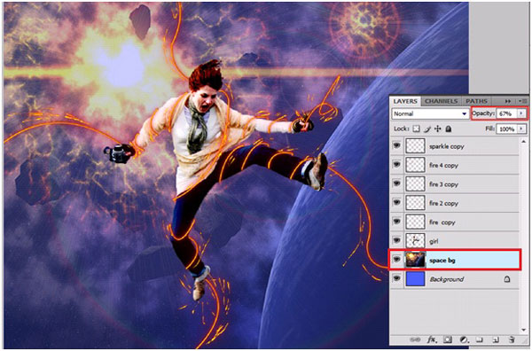bg Learn to Create A Fire Light Effect in Photoshop