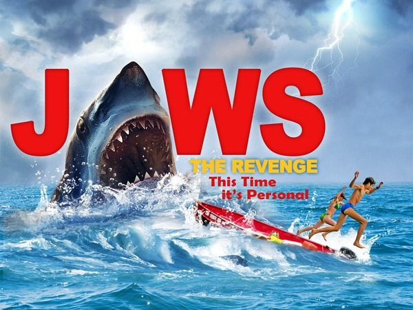 add more text How to Create Realistic JAWS Movie Poster in Photoshop
