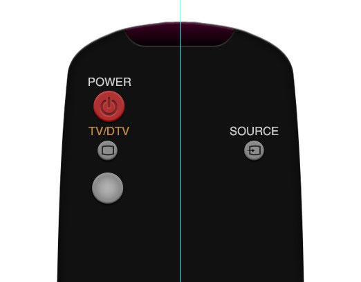 06 4 Create A Realistic TV Remote Controller In Photoshop