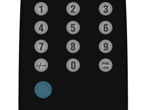 08 4 Create A Realistic TV Remote Controller In Photoshop